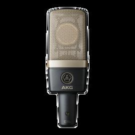 C314 - Black - Professional multi-pattern condenser microphone - Hero