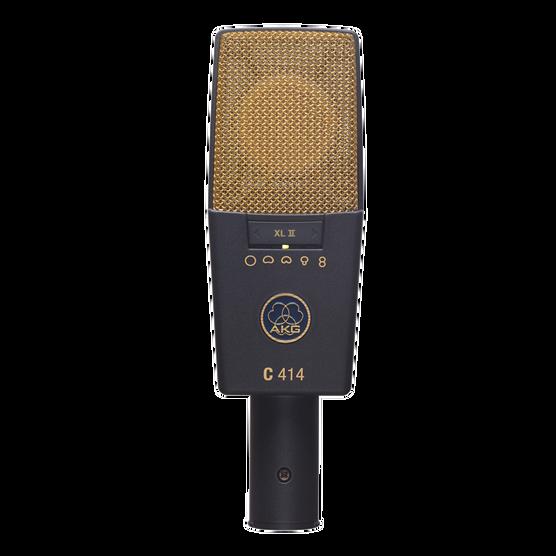 C414 XLII - Black - Reference multipattern condenser microphone - Hero