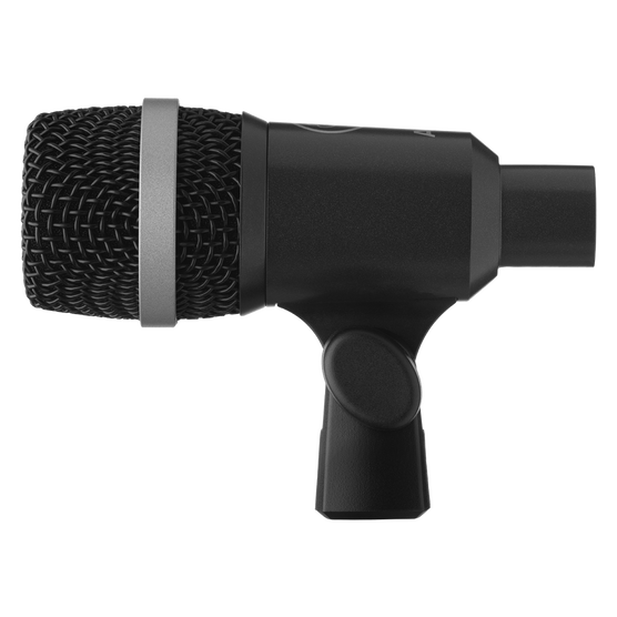 D40 - Black - Professional dynamic instrument microphone - Left