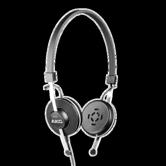 K15 - Black - High-performance conference headphones - Hero