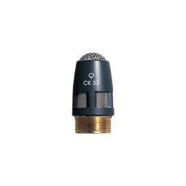 CK33 - Grey - High-performance hypercardioid condenser microphone capsule - DAM Series - Hero