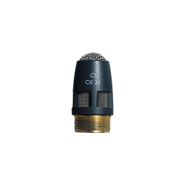 CK31 - Grey - High-performance cardioid condenser microphone capsule - DAM Series - Hero