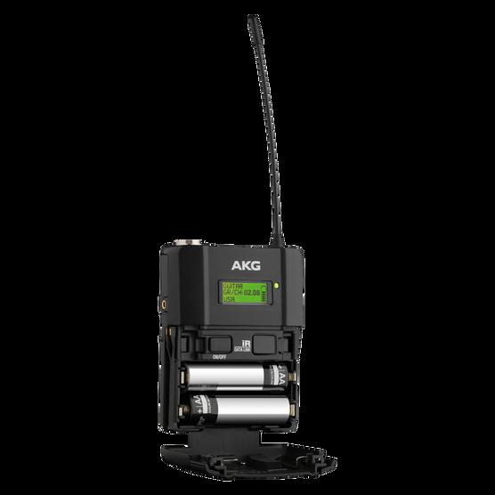 DPT800 Band2 50mW - Black - Reference digital wireless body pack transmitter - Detailshot 1
