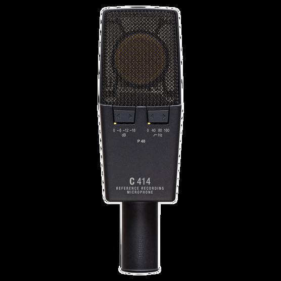 C414 XLS - Black - Reference multipattern  condenser microphone - Back