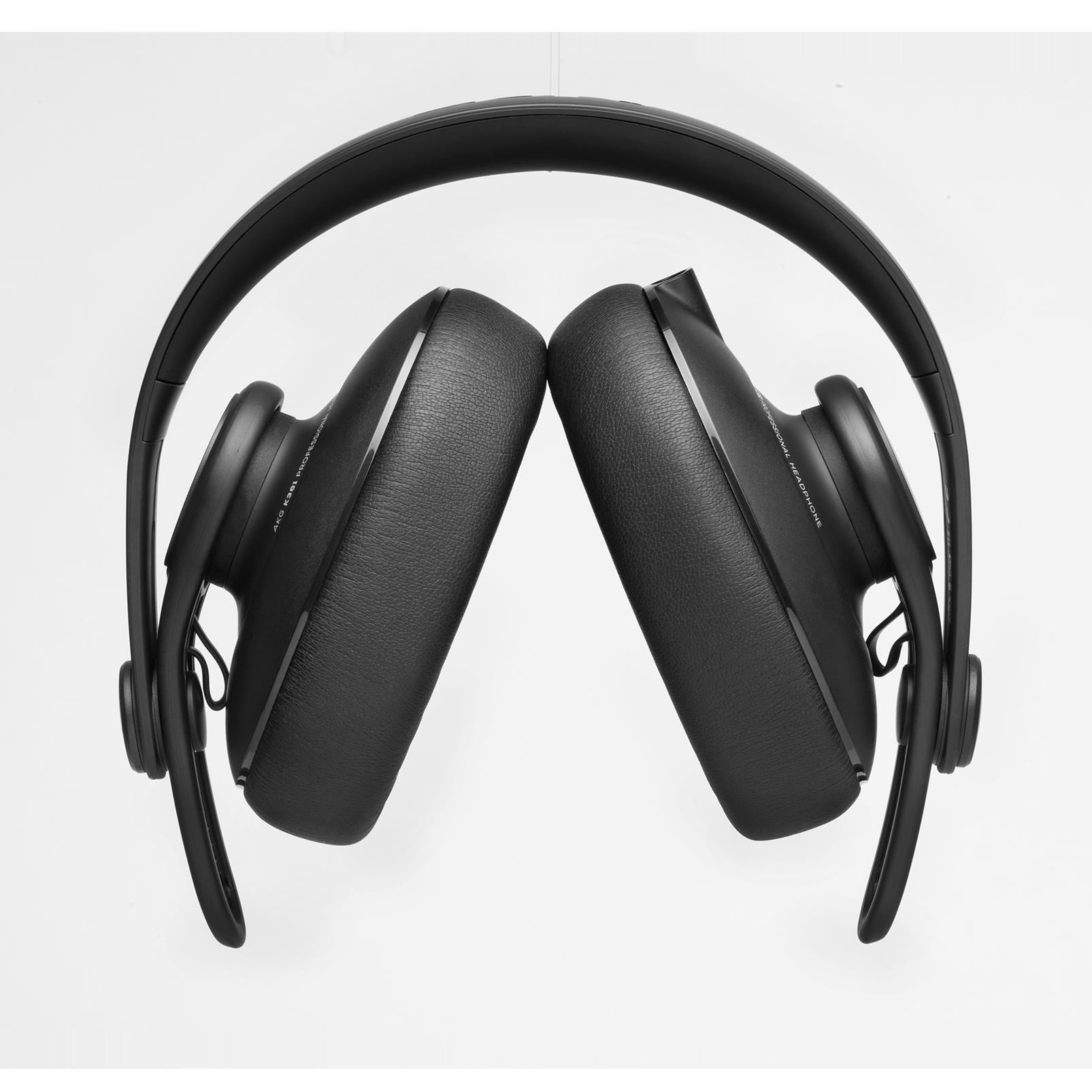 K361 - Black - Over-ear, closed-back, foldable studio headphones  - Detailshot 2