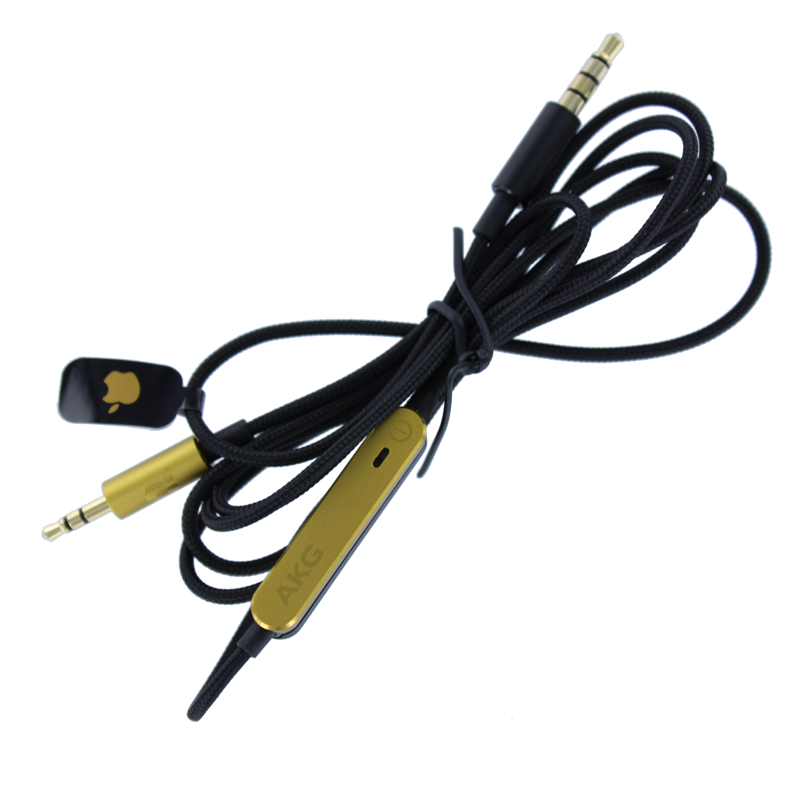 AKG Audio cable with remote for N90 - Black - Audio cable 120 cm - Hero