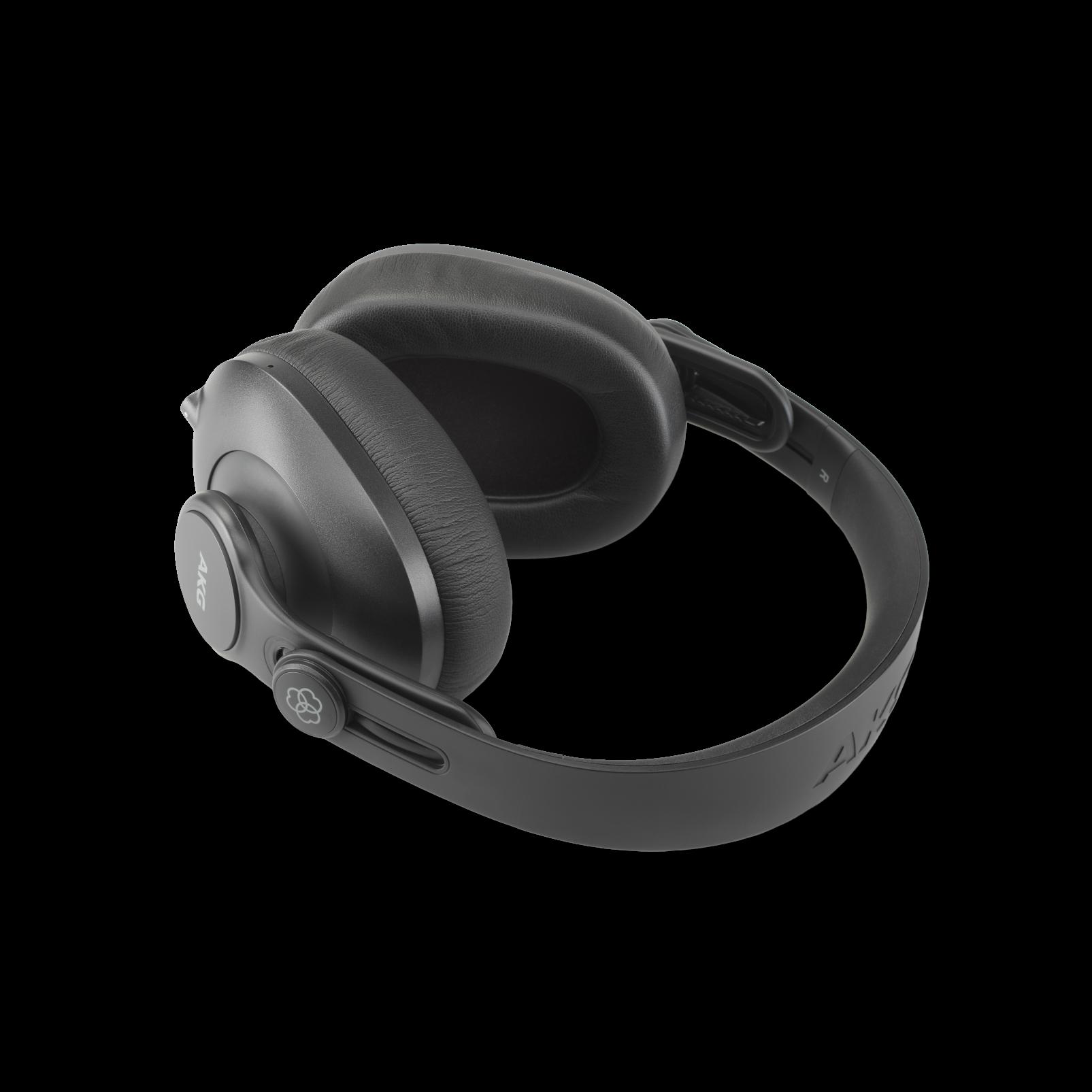 K361-BT - Black - Over-ear, closed-back, foldable studio headphones with Bluetooth - Detailshot 4