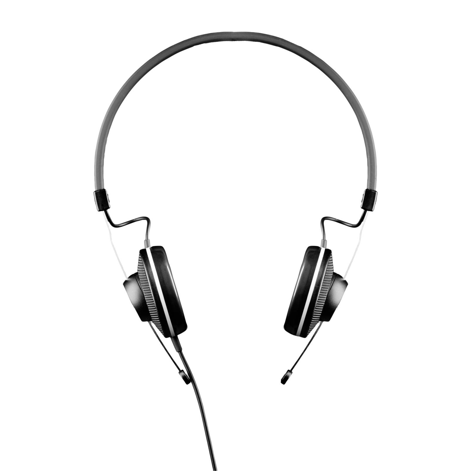 K15 - Black - High-performance conference headphones - Front