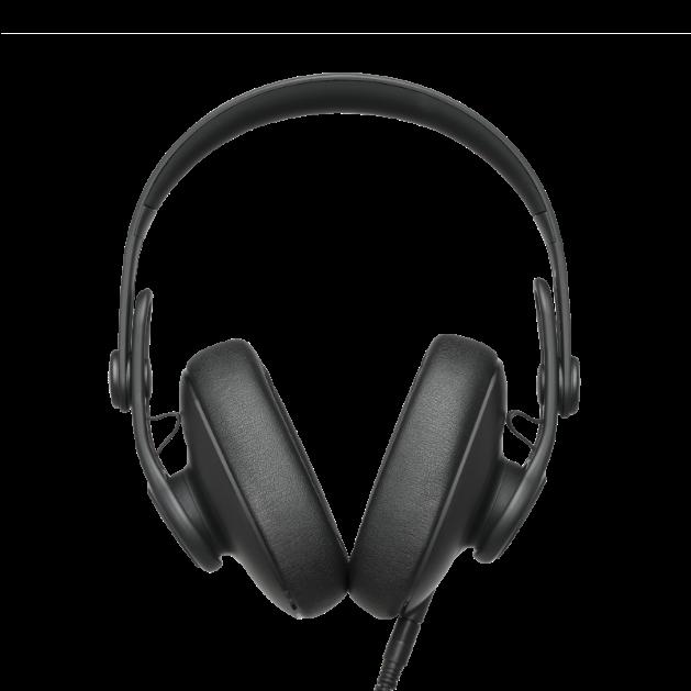 K361 - Black - Over-ear, closed-back, foldable studio headphones  - Detailshot 1