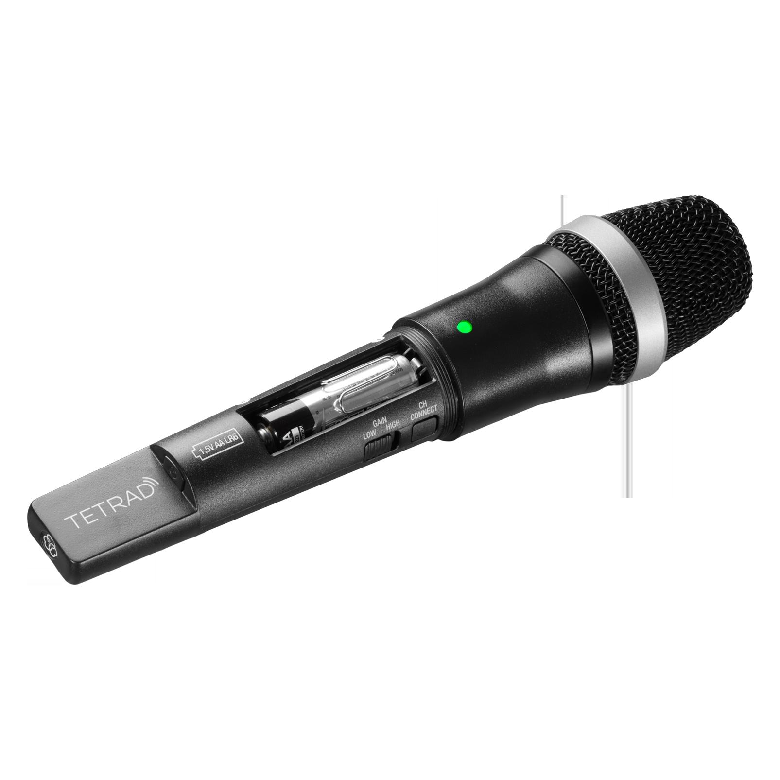 DHTTETRAD D5 (NON-EU) - Black - Professional digital handheld transmitter - Detailshot 1