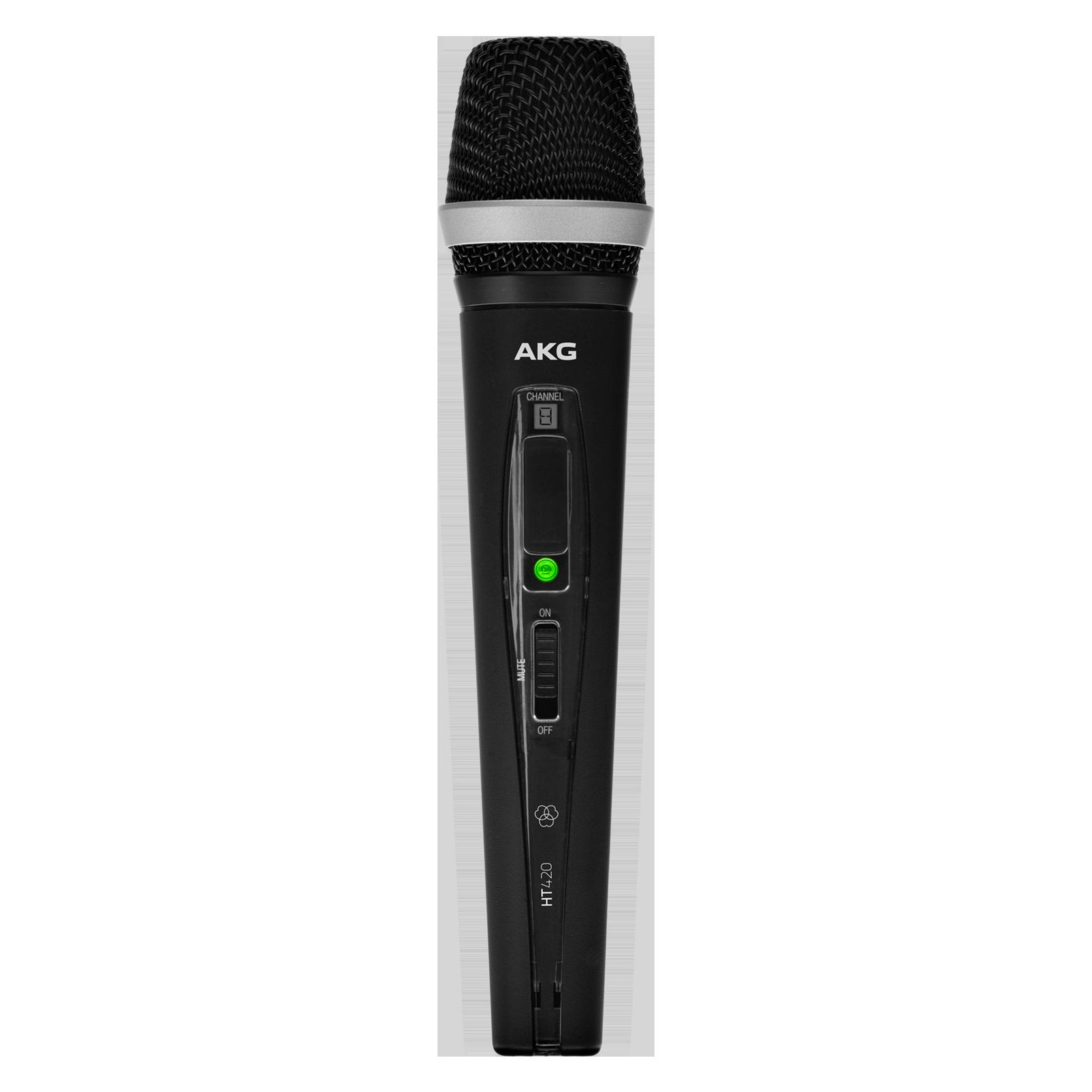 HT420 BandD - Black - Professional wireless handheld transmitter - Hero